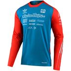 Team Ocean/Flo Orange Limited Edition Adidas SE Ultra Jersey - 352800014