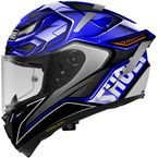 Blue/Black/White X-Fourteen Aerodyne TC-2 Helmet - 0104-2602-06