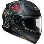 Matte Black/Red/Green RF-1200 Dystopia TC-5 Helmet - 0109-4205-06
