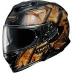 Black/Brown GT-Air II Deviation TC-9 Helmet - 0119-1309-06