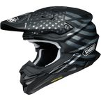 Matte Black/Gray/White VFX-EVO Faithful TC-5 Helmet - 0146-1605-06