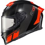 Neon Red EXO-R1 Air Corpus Helmet - R1-1025