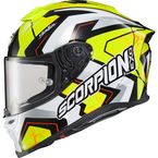 Neon Yellow EXO-R1 Air Bautista Helmet - R1-3015