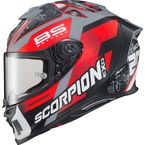Red EXO-R1 Air Quartararo Helmet - R1-4017