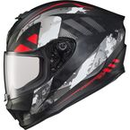 Black/Red EXO-R420 Distiller Helmet - 42-1525