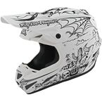 White Limited Edition Stranded SE4 Composite Helmet - 101859004