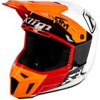 Orange Krush Prizm F3 Helmet - 3110-000-130-019