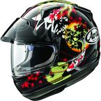 Black/Red/White Signet-X Oriental Helmet - 886443