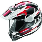 Metallic Red/Black/White XD4 Depart Helmet - 886454