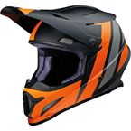Black/Orange/Gray Rise Evac Helmet - 0110-6932