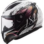 Youth Chameleon/White Rapid Mini Dream Catcher Helmet - 353-4234