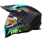 Galaxy/Teal/Purple Delta R3L Ignite Helmet w/Fidlock Technology - F01000901-150-251