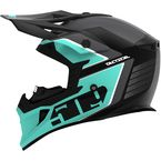 Teal/Black Tactical Helmet - F01001000-140-301