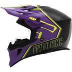 Purple/Hi-Vis Tactical Helmet - F01001000-140-711