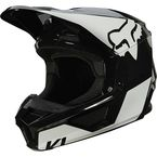Youth Black/White V1 Revn Helmet - 25875-018-YL