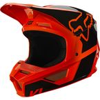 Youth Fluorescent Orange V1 Revn Helmet - 25875-824-YM