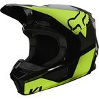 Youth Fluorescent Yellow V1 Revn Helmet - 25875-130-YL