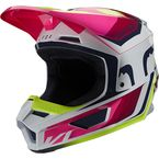 Fluorescent Yellow V1 Tro Helmet - 25155-130-L