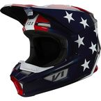 White/Red/Blue V1 Ultra Helmet - 26572-574-L