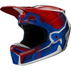 Flame Red V3 RS Wired Helmet - 25813-122-L