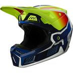 Fluorescent Yellow V3 RS Wired Helmet - 25813-130-L