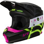 Youth Black V1 Venin Helmet - 25321-001-YM