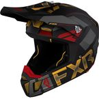 Black/Gold/Rust Clutch EVO Helmet - 210615-1062-10