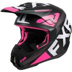 Electric Pink Torque Team Helmet - 210620-9400-13