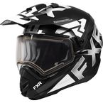White Torque X EVO Helmet w/Electric Shield & Sun Shade - 210622-0100-13