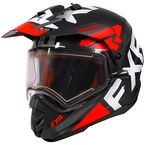 Red Torque X EVO Helmet w/Electric Shield & Sun Shade - 210622-2000-13