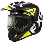 Hi-Vis Torque X EVO Helmet w/Electric Shield & Sun Shade - 210622-6500-13