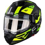 Hi-Vis Maverick Modular Speed Helmet w/Electric Shield - 210624-6500-13