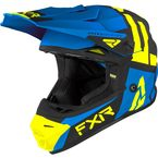 Youth Blue/Hi-Vis Legion Helmet - 210640-4065-13