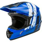 Blue/Black/White MX46 Dominant Helmet - 72-6613L