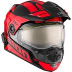 Red/Black Mission AMS Space Snow Helmet w/Electric Shield - 513474