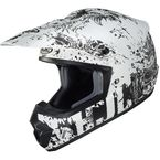 Semi-Flat White/Charcoal CS-MX 2 Creeper MC10SF Helmet - 343-704