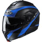 Semi-Flat Black/Blue C91 Taly MC2SF Modular Helmet - 2106-724