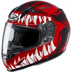 Youth Red/Black/White CL-Y Zuky MC1 Helmet - 246-914