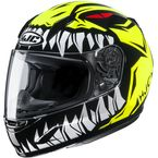 Youth Hi-Viz/Black/White CL-Y Zuky MC3H Helmet - 246-934