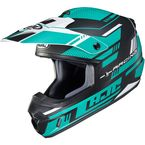 Semi-Flat Teal/Black/White CS-MX 2 Trax MC4SF Helmet - 342-744