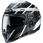 White/Gray/Black i70 Reden MC5 Helmet - 1416-954