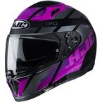 Pink/Gray/Black i70 Reden MC8 Helmet - 1416-984