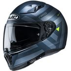 Semi-Flat Blue/Gray i70 Watu MC4SF Helmet - 1414-744