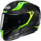 Carbon Black/Hi-Viz RPHA-11 Carbon Bleer MC3H Helmet - 1984-934