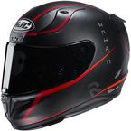Semi-Flat Charcoal/Red RPHA-11 Pro Jarban MC1SF Helmet - 1986-714