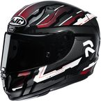 Gray/Red/White/Black RPHA-11 Pro Stobon MC1 Helmet - 1985-914