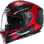 Semi-Flat Black/Red RPHA-70 ST Kosis MC1SF Helmet - 1722-714