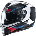 Semi-Flat Black/White/Red/Blue RPHA-70 ST Kosis MC21SF Helmet - 1722-214