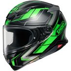 Green/Black/Silver RF-1400 Prologue TC-4 Helmet - 0101-1004-06