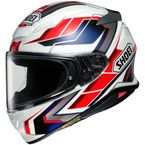 White/Red/Blue/Silver RF-1400 Prologue TC-10 Helmet - 0101-1010-06